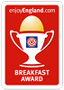 Enjoy England - 3 Star & Breakfast Award
